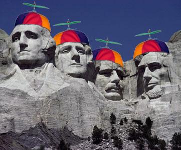 My vision of Mt. Rushmore